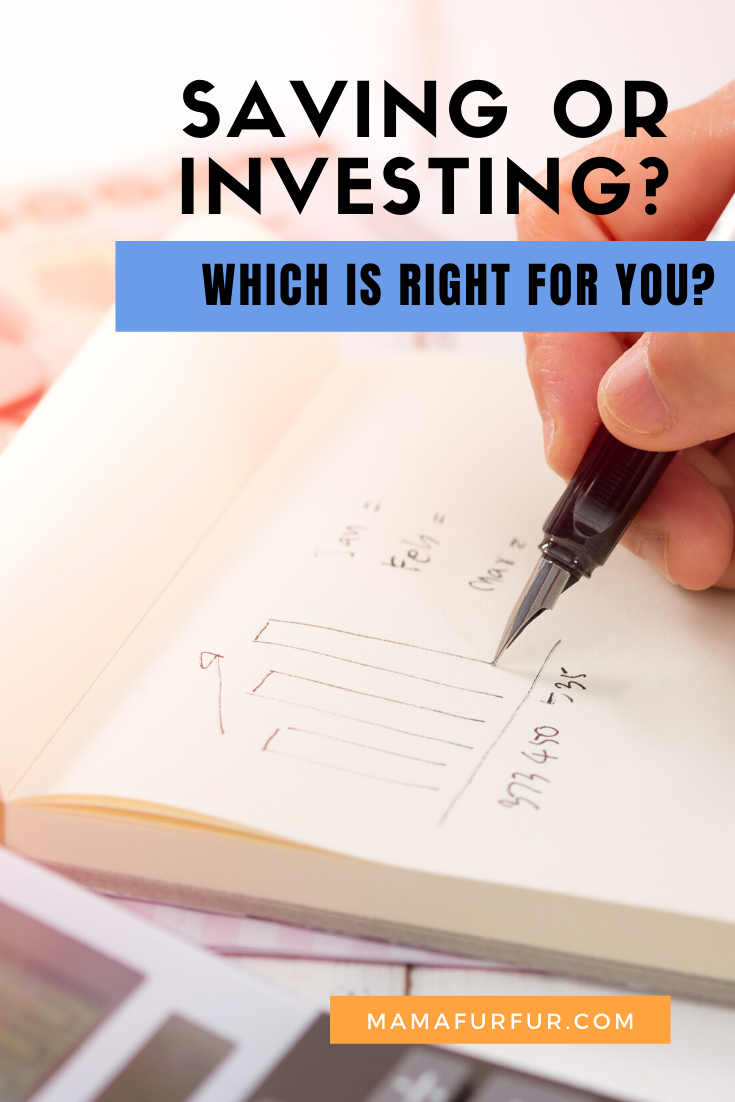 SAVING vs INVESTING - Which one is BEST for me RIGHT NOW?