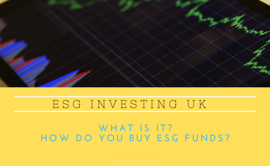 ESG Investments - Socially Responsible Investing